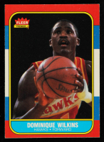 Dominique Wilkins 1986-87 Fleer #121 RC at PristineAuction.com
