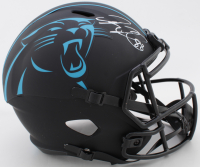Greg Olsen Signed Panthers Full-Size Eclipse Alternate Speed Helmet (Beckett COA) at PristineAuction.com