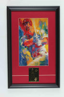 "LeRoy Neiman ""Mark McGwire"" 13x20 Custom Framed Print Display with 23KT Gold Card at PristineAuction.com"