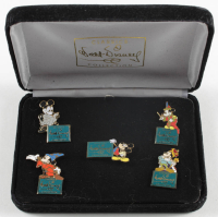 Set of (5) Vintage Walt Disney Classics Collection Pins at PristineAuction.com