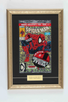 "1990 ""Spider-Man"" Issue #1 Marvel 12x17 Custom Framed Comic Book Display at PristineAuction.com"