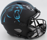 Greg Olsen Signed Panthers Full-Size Eclipse Alternate Speed Helmet (Beckett COA) at PristineAuction.com