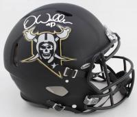 Darren Waller Signed Raiders Full-Size Authentic On-Field Matte Black Speed Helmet (Beckett Hologram) at PristineAuction.com