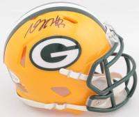 Davante Adams Signed Packers Speed Mini Helmet (Beckett COA) at PristineAuction.com