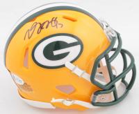 Davante Adams Signed Packers Speed Mini Helmet (Beckett COA) at PristineAuction.com