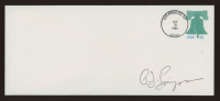 O.J. Simpson Signed Envelope (Simpson Hologram) at PristineAuction.com