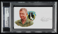 Hal Moore Signed 2.75x5 Cut (PSA Encapsulated) at PristineAuction.com