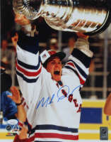Mike Richter Signed Rangers 11x14 Photo (JSA COA) at PristineAuction.com