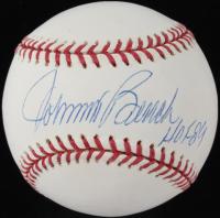 "Johnny Bench Signed OML Baseball Inscribed ""HOF 89"" (PSA COA) at PristineAuction.com"