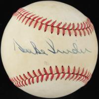 Duke Snider Signed ONL Baseball (PSA COA) at PristineAuction.com