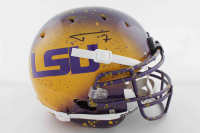 Tyrann Mathieu Signed LSU Tigers Full-Size Authentic On-Field Hydro-Dipped Helmet (JSA COA) at PristineAuction.com