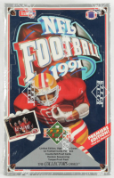 1991 Upper Deck Football Premiere Edition Box of (36) Packs at PristineAuction.com