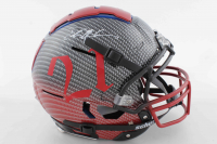 Deion Sanders Signed Full-Size Authentic On-Field Hydro-Dipped F7 Helmet (Beckett COA) at PristineAuction.com