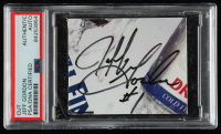 Jeff Gordon Signed 2.5x3 Cut (PSA Encapsulated) at PristineAuction.com