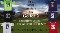 OKAUTHENTICS NFL Jersey Go for 2 Mystery Box Series VIII at PristineAuction.com