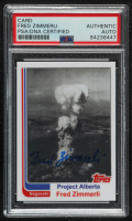 Fred Zimmerli Signed LE 2010 Topps Autograph Trading Card (PSA Encapsulated) at PristineAuction.com