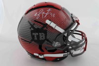 Shaquil Barrett Signed Full-Size Authentic On-Field Hydro-Dipped F7 Helmet (JSA COA) at PristineAuction.com