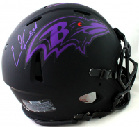 Ed Reed Signed Ravens Full-Size Authentic On-Field Eclipse Alternate Speed Helmet (Beckett COA) at PristineAuction.com