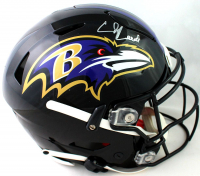 Ed Reed Signed Ravens Full-Size Authentic On-Field SpeedFlex Helmet (Beckett COA) at PristineAuction.com
