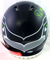 D. K. Metcalf Signed Seahawks Full-Size Authentic On-Field Speed Helmet (Beckett COA) at PristineAuction.com