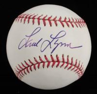 Fred Lynn Signed OML Baseball (PSA COA) at PristineAuction.com