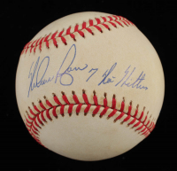 "Nolan Ryan Signed OAL Baseball Inscribed ""7 No Hitters"" (PSA COA) at PristineAuction.com"