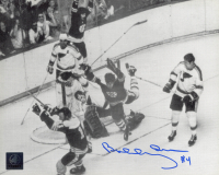 "Bobby Orr Signed Bruins ""The Flying Goal"" 8x10 Photo (Orr COA) at PristineAuction.com"