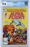 "1983 ""Alpha Flight"" Issue #1 Marvel Comic Book (CGC 9.6) at PristineAuction.com"