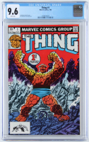 "1983 ""The Thing"" Issue #1 Marvel Comic Book (CGC 9.6) at PristineAuction.com"