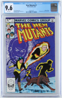 "1983 ""The New Mutants"" Issue #1 Marvel Comic Book (CGC 9.6) at PristineAuction.com"