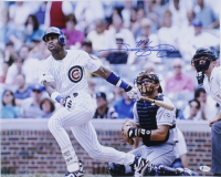 Sammy Sosa Signed Cubs 16x20 Photo (Beckett COA) at PristineAuction.com