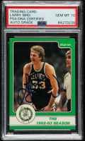 Larry Bird Signed 1984 Star #10 The 1982-83 Season (PSA Encapsulated) at PristineAuction.com