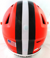 Jarvis Landry Signed Browns Full-Size Authentic On-Field SpeedFlex Helmet (JSA COA) at PristineAuction.com