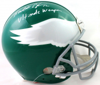 """Randall Cunningham Signed Eagles Full-Size Authentic On-Field Throwback Helmet Inscribed """"Ultimate Weapon"""" (Beckett COA) at PristineAuction.com"""