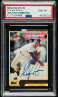 Nolan Ryan Signed 1992 Topps McDonald's #24 (PSA Encapsulated) at PristineAuction.com
