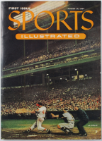 Sports Illustrated Magazine Original First Issue from August 16, 1954 at PristineAuction.com
