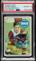 Johnny Bench Signed 1969 Topps #95 with Multiple Inscriptions (PSA Encapsulated) at PristineAuction.com