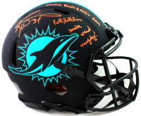 Ricky Williams Signed Dolphins Full-Size Authentic On-Field Eclipse Alternate Speed Helmet with Multiple Inscriptions (Beckett COA) at PristineAuction.com