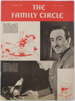 "Vintage 1938 Disneyland ""The Family Circle"" Magazine at PristineAuction.com"
