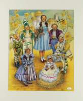 """""""The Wizard of Oz"""" 20x24 Matted Photo Display Cast-Signed by (6) with Ruth Duccini, Karl Slover, Mickey Carroll, Jerry Maren, Margaret Pelligrini, Donna Stewart-Hardway (JSA COA) at PristineAuction.com"""