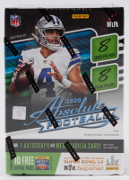 2020 Panini Absolute Football Blaster Box with (8) Packs at PristineAuction.com