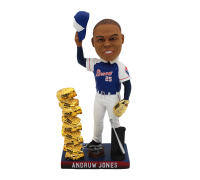Andruw Jones Signed Braves Gold Glove Bobble Head (Radtke COA) at PristineAuction.com