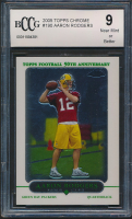 Aaron Rodgers 2005 Topps Chrome #190 RC (BCCG 9) at PristineAuction.com