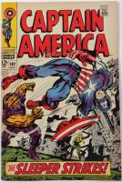 "1968 ""Captain America"" Issue #102 Marvel Comic Book at PristineAuction.com"