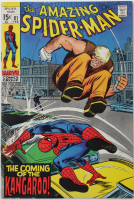 """1969 """"The Amazing Spider-Man"""" Issue #81 Marvel Comic Book at PristineAuction.com"""