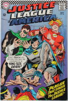 "1966 ""Justice League of America"" Issue #44 DC Comic Book at PristineAuction.com"