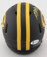 Davante Adams Signed Packers Eclipse Alternate Speed Mini Helmet (Beckett COA) at PristineAuction.com