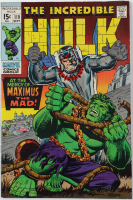 """1969 """"The Incredible Hulk"""" Issue #119 Marvel Comic Book at PristineAuction.com"""