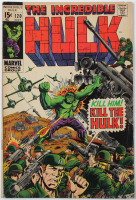 "1969 ""The Incredible Hulk"" Issue #120 Marvel Comic Book at PristineAuction.com"