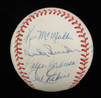 Dodgers Greats ONL Baseball Team-Signed by (12) With Duke Snider, Ralph Branca, Carl Erskine, Preacher Roe (PSA LOA) at PristineAuction.com